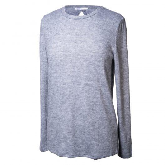 Back-Tie Tunic 2XLarge - Gray