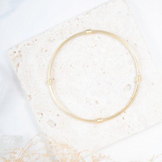 1-Tone Knot Bracelet - Gold