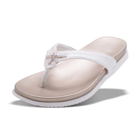 Barbados Enameled Starfish Sandal - Pearl Size 10