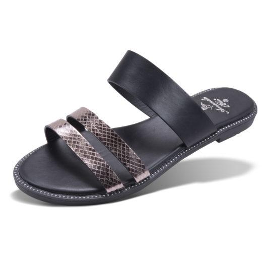Ella Slide - Black Size 11