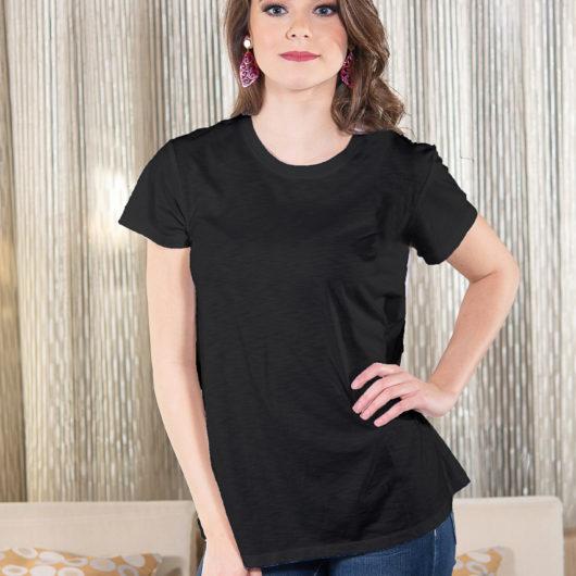 Luxe T-Shirt - Black