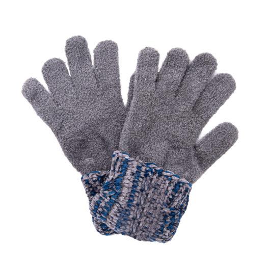 Polar Chenille Magic Gloves Blue