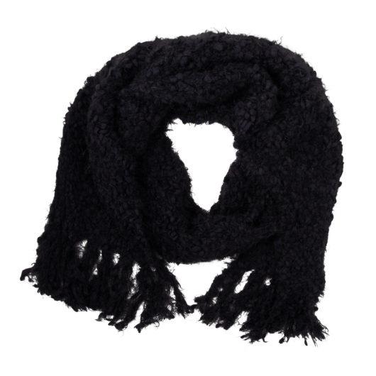 Snowfall Scarf - Black