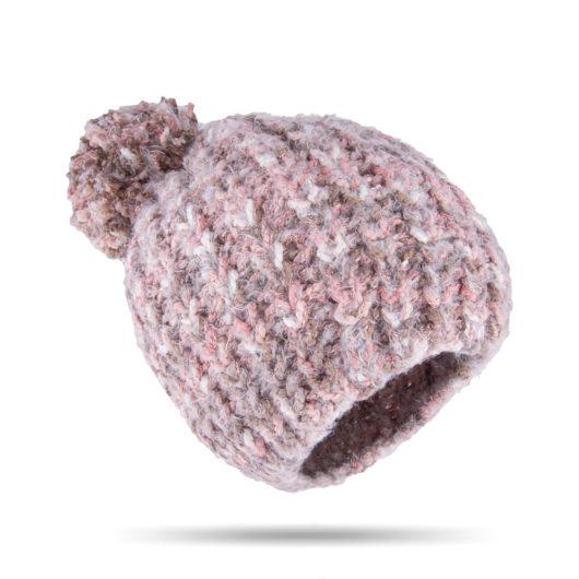 Flurry Pom Hat Blush