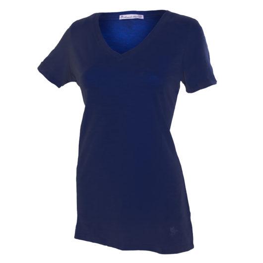 V-Neck T-Shirt - Navy