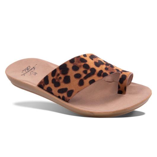 Nala Slide Sandal - Leopard