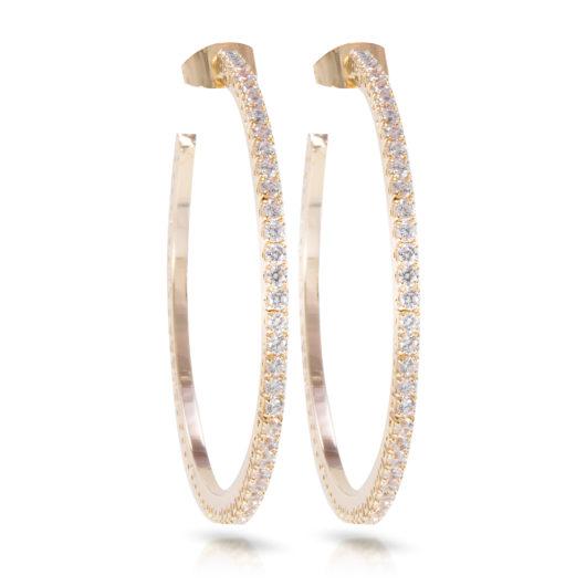 Hoop Earring - Gold