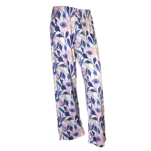 Pajama Pants Size XLarge - Cool Florals