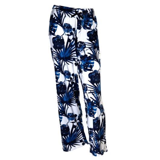 Pajama Pants Size XLarge - Navy Palms